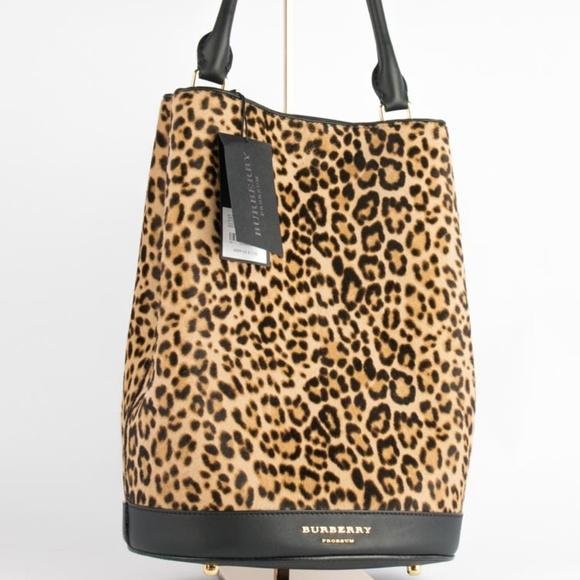 1792cd3306e Burberry Bags   Prorsum Leopard Print Tote Bag   Poshmark